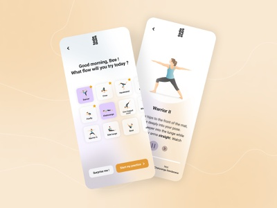 Yoga mobile app concept product design productdesign product ui ux ux design branding application ui minimal design application app design app leonieferreira yoga app yoga