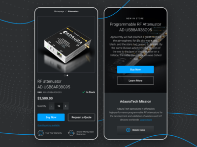 Wireless Technology Companie Website