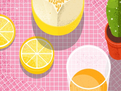 Still here still life  45 texture food illustration food and drink cactus fruits juice oranges food design illustration vector