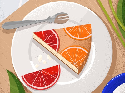 Still here still life 47 food summer delicious tasty sweet dessert cake oranges food illustration food and drink texture design illustration vector