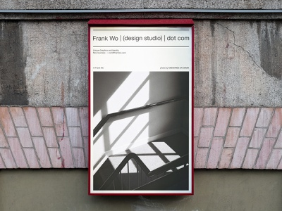 Frank Wo | (design studio) | dot com typography minimal logo branding graphic design design