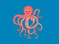 Pixel Octopus