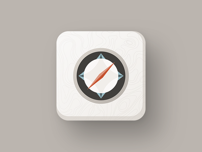 Daily UI 005. App Icon — Compass
