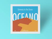 Oceano Square Postcard