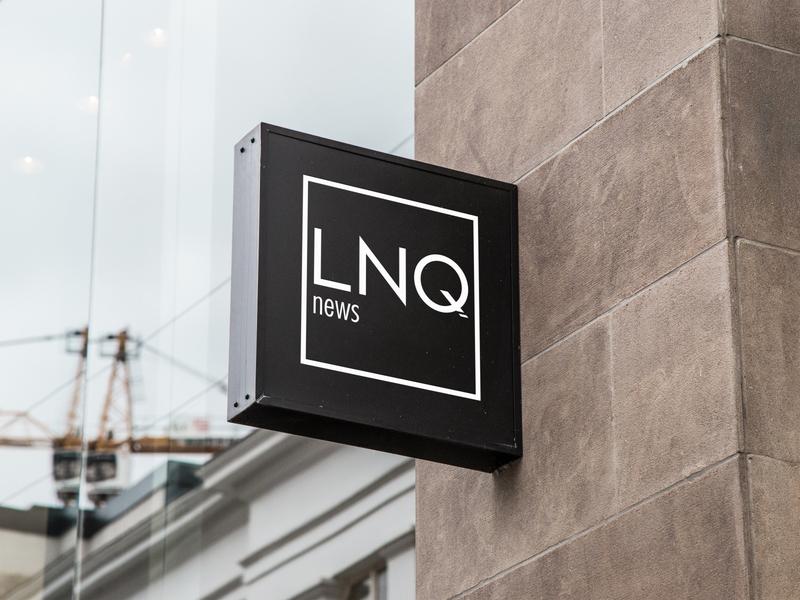 LNQ news Logotype sign