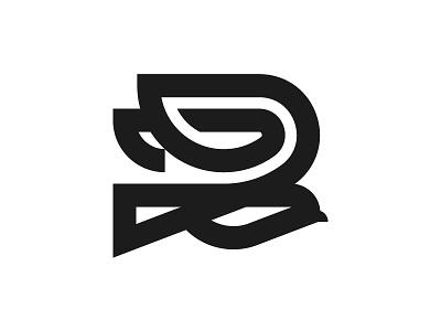 Bird wing icon mark illustration logo bird
