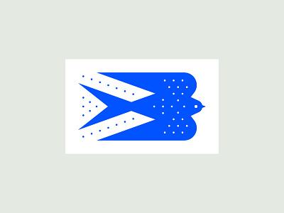 Swallow logo illustration design bird swallow