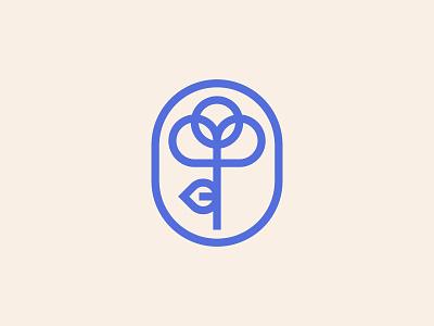 Flower logo branding icon illustration design flower