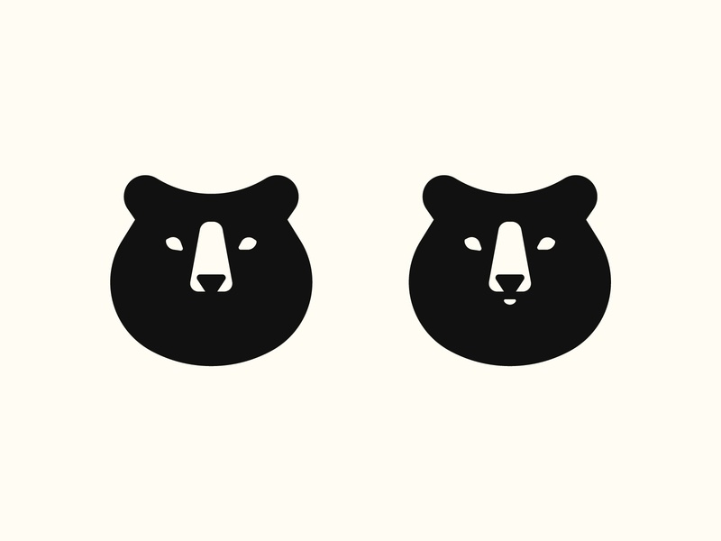 Bear branding design logo bear