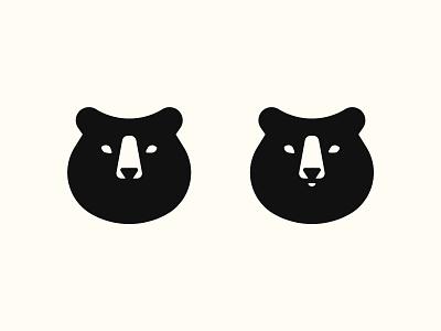Bear branding design logo bear