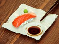 Zen garden ( sushi plate )