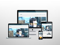 Simple One Page Photography Portfolio Template