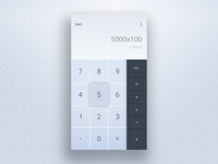 Daily UI #004 – Calculator