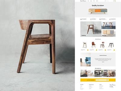 Home Glamour brand ui. ui artist minimal store website design magento expert magento 2 ecommerce ui-designer uiux