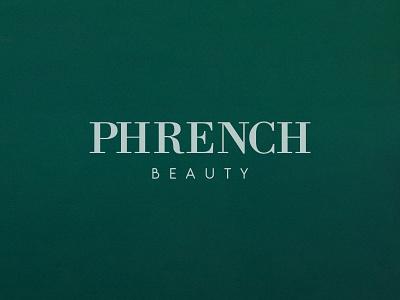 Phrench Beauty - Redesign Brand beauty logo ui design website work brand design logo design logo redesign