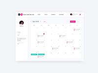Calendar UIUX Design