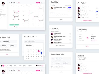 Scheduling System Web UI