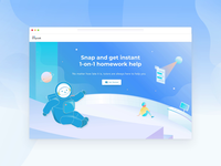 Snapask Landing Page Redesign
