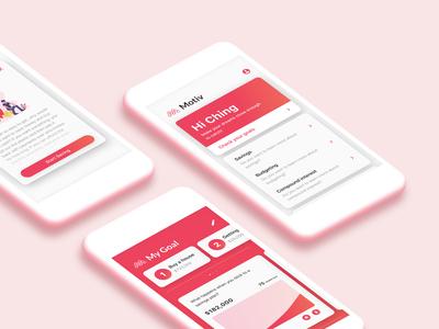Motiv - Card UI Design