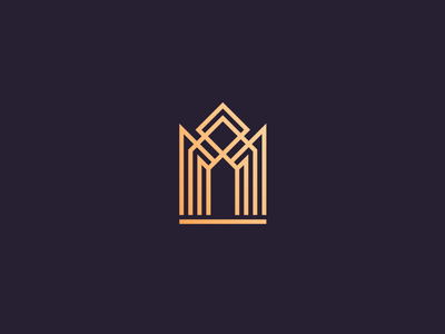 Luxury apartments logo decorative southern line art line ornamental hotel villa apartments residence house store elegant luxury logo modern branding minimalist