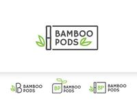 Bamboo pods logo concepts