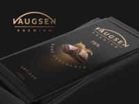 Dark chocolate concept