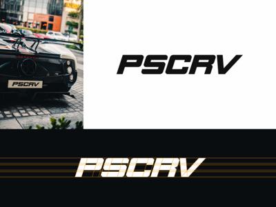 Sports car club logo concept