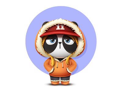 PandaEarth - Panda #12 - My name is Hua Ao metamask blockchain game ethereum cryptokitties cryptocollectibles cryptopandas pandaearth dapp erc-721 tachat panda blockchain