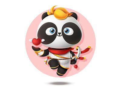 PandaEarth - Panda #16 - My name is Hua Rong metamask blockchain game ethereum cryptokitties cryptocollectibles cryptopandas pandaearth dapp erc-721 tachat blockchain panda
