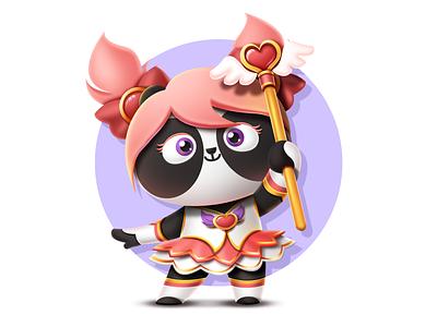 PandaEarth - Panda #23 - My name is Qian Qian metamask blockchain game ethereum cryptokitties cryptocollectibles cryptopandas pandaearth dapp erc-721 tachat blockchain panda