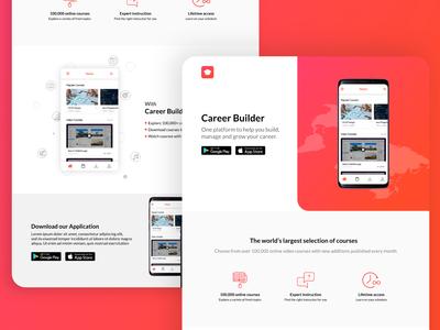 Landing Page - DailyUI