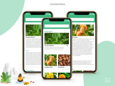 App for students of Pharmacognosy (Concept) illustration flat designs app design ui ux adobexd