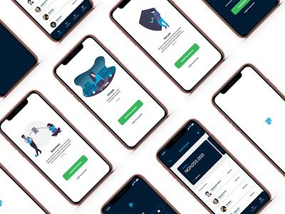 Paystack App UI Design Concept paystack fintech illustration app website designs ui design ux adobexd