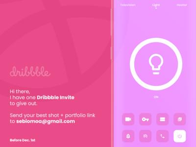 Dribbble Invite.