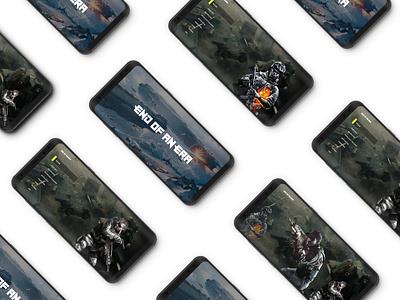 Game UI Design with Adobe XD game app ui design ux adobexd