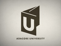 AdaCore U Logo Monochrome Version