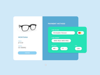 DailyUI Challenge 002 - Credit Card Checkout