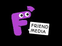 Friend media branding