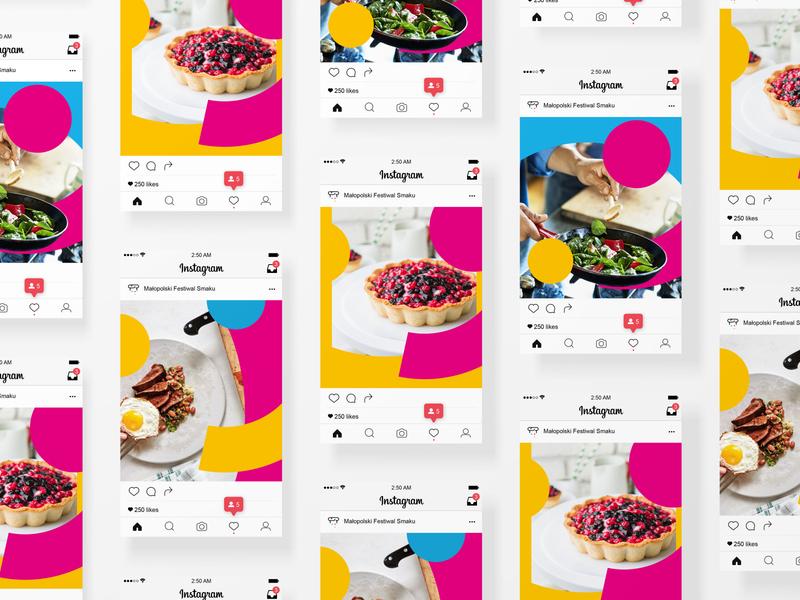 Malopolski Festiwal Smakow type art ui ux web icon typography app design branding social