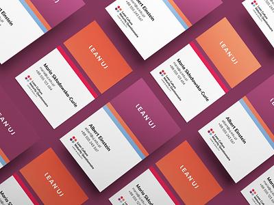 business card animation web app ux icon vector ui logo typography branding design illustration