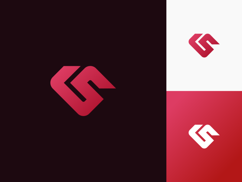 My Logo version 2 gradient logo graphicdesign design gradient branding logo mark mark logodesign logotype vector logo brand design brand