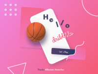 My First Shot on Dribbble