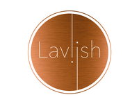 Laviish logo design