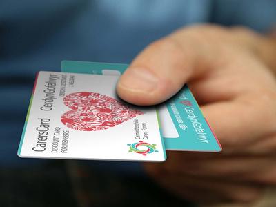 Carer Cards carers logo logo design brand identity graphic design cards carer