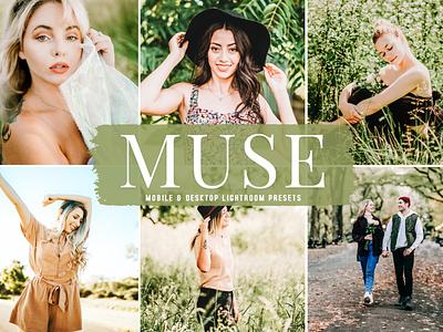 Muse Mobile & Desktop Lightroom Presets modern presets