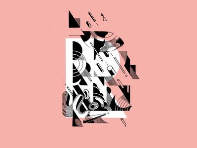 Roule handmade typography doodle drawing graphic design vector illustrator design brussels belgium illustration