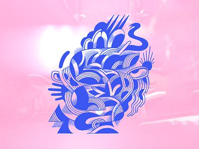 Observation digital art belgium sketchbook illustrator doodle branding graphic design drawing spontaneous illustration