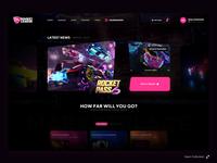 Rocket League eSport UI