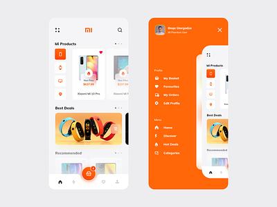 Mi Store App clean ui web design interaction clean design application shopping ui design ux ui xiaomi app xiaomi ecommerce design shop app design ecommerce app ecommerce app