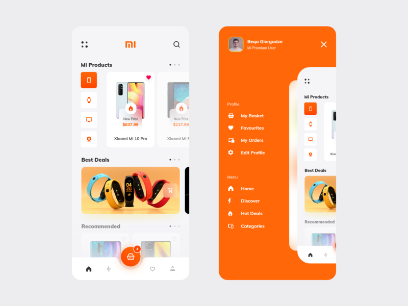 Mi Store App interaction clean design application shopping ui design ux ui xiaomi app xiaomi ecommerce design shop app design ecommerce app ecommerce app